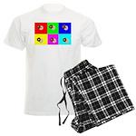 Andy Warhola Bagels Men's Light Pajamas