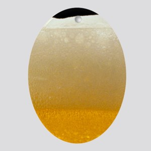 Beer Ornament (Oval)