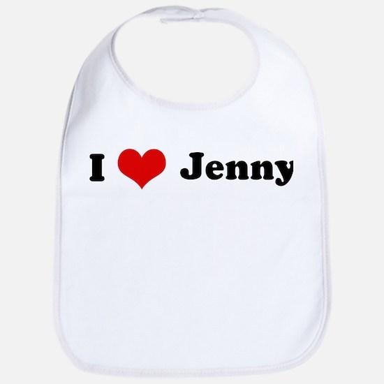 I Love Jenny Bib