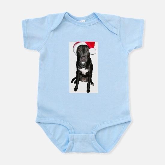 Santa Dog Infant Bodysuit