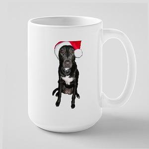 Santa Dog Large Mug