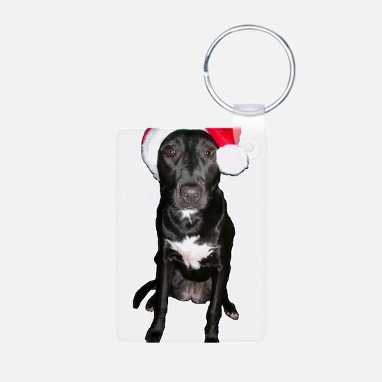 Santa Dog Keychains