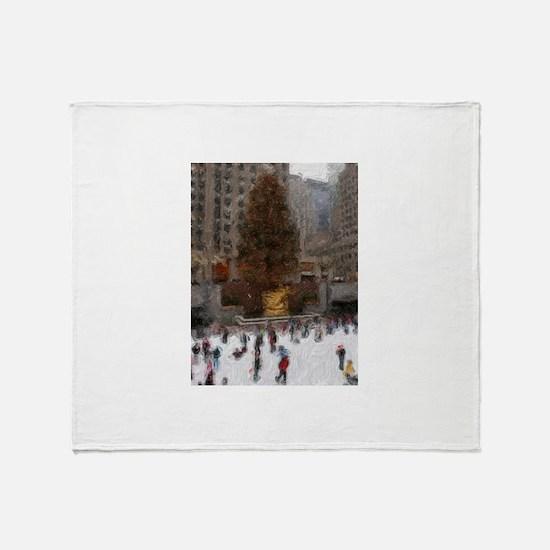 Rockefeller Center Tree Throw Blanket