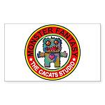 Monster fantasy 1 Sticker (Rectangle 10 pk)