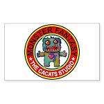 Monster fantasy 1 Sticker (Rectangle 50 pk)