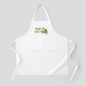 Rub it Frog BBQ Apron