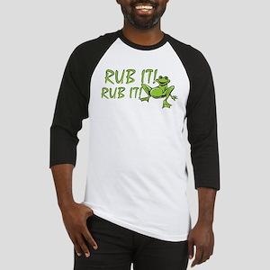 Rub it Frog Baseball Jersey