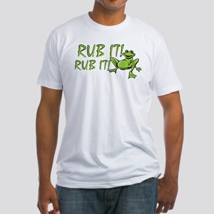 Rub it Frog Fitted T-Shirt