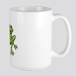 Rub it Frog Large Mug