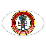 Monster fantasy 2 Sticker (Oval 50 pk)