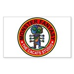 Monster fantasy 2 Sticker (Rectangle 50 pk)