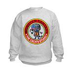 Monster fantasy 3 Kids Sweatshirt