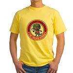 Monster fantasy 3 Yellow T-Shirt