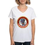 Monster fantasy 3 Women's V-Neck T-Shirt