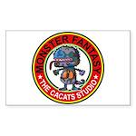 Monster fantasy 3 Sticker (Rectangle)