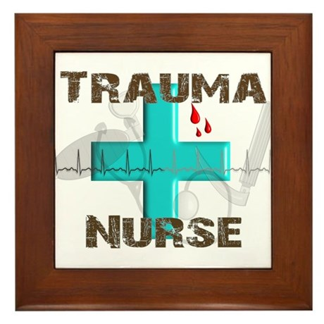 Emergency Room Framed Tile
