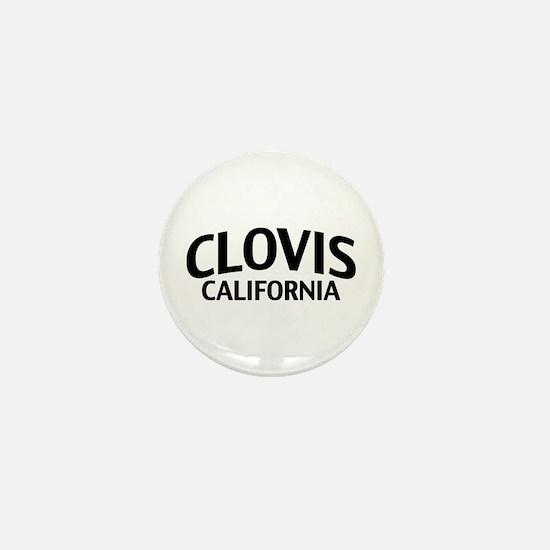 Clovis California Mini Button