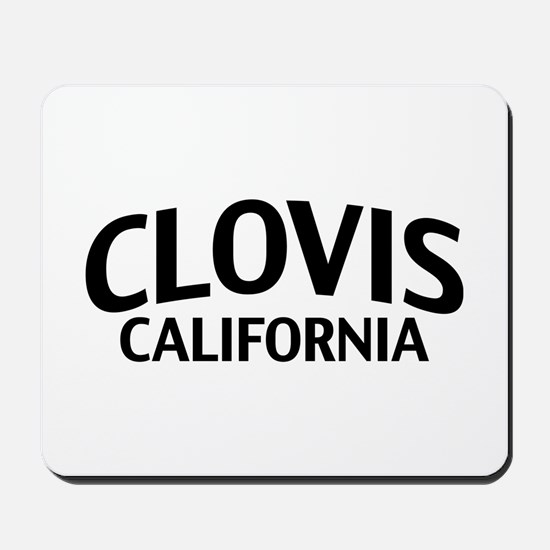 Clovis California Mousepad