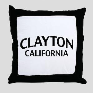 Clayton California Throw Pillow