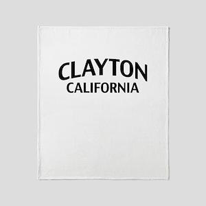 Clayton California Throw Blanket