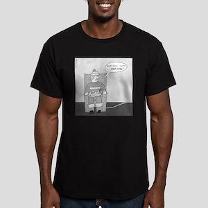 Quik Pop Men's Fitted T-Shirt (dark)