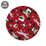 "Cute Turban Pirate 3.5"" Button (10 Pk)"