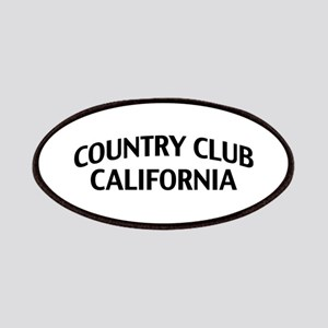 Country Club California Patches