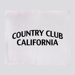 Country Club California Throw Blanket