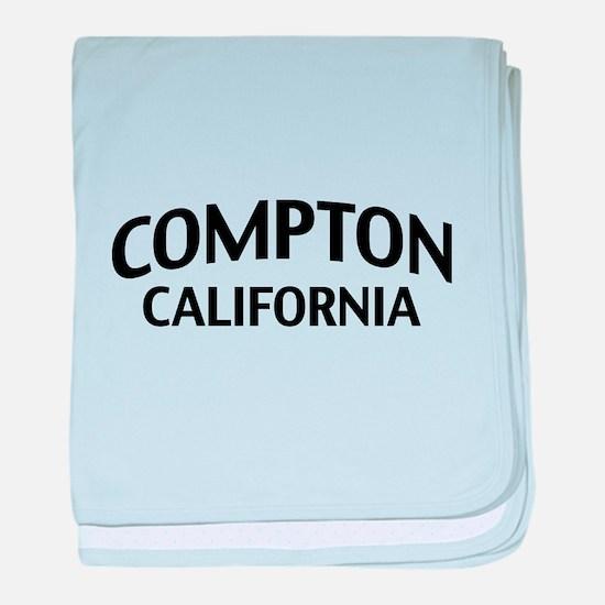 Compton California baby blanket