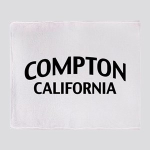 Compton California Throw Blanket