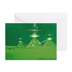 Giza Night Greeting Cards (Pk of 10)