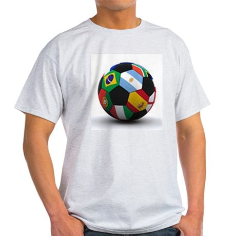 World Cup Soccer Ball Light T-Shirt