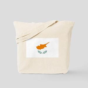 Flag of Cyprus Tote Bag