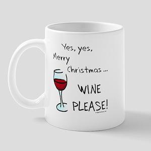 Christmas wine Mug
