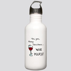 Christmas wine Stainless Water Bottle 1.0L