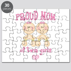 Mom Twin Girls Puzzle