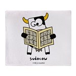 Sudocow Throw Blanket