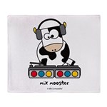 Mix mooster Throw Blanket