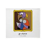 Picowso Throw Blanket