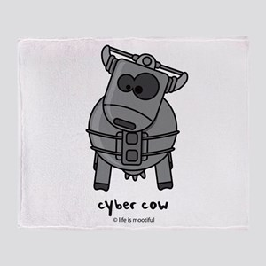 Cybercow Throw Blanket
