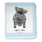 Cybercow baby blanket