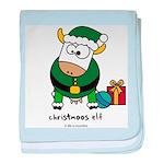 Christmoos Elf baby blanket