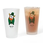 Leprecow Drinking Glass