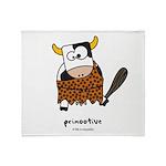 Primootive Throw Blanket
