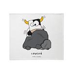 Coward Throw Blanket