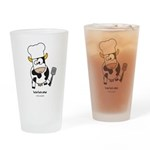 barbecow Drinking Glass
