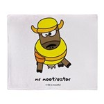 mr mootivator Throw Blanket