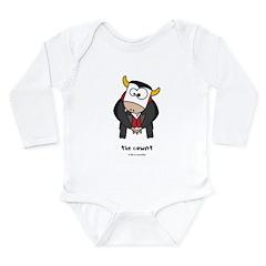 the cownt Long Sleeve Infant Bodysuit