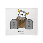mooses Throw Blanket
