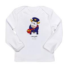 cow pat Long Sleeve Infant T-Shirt